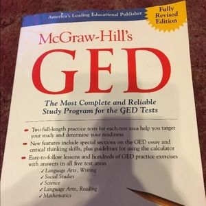 McGraw-Hill, GED tests book